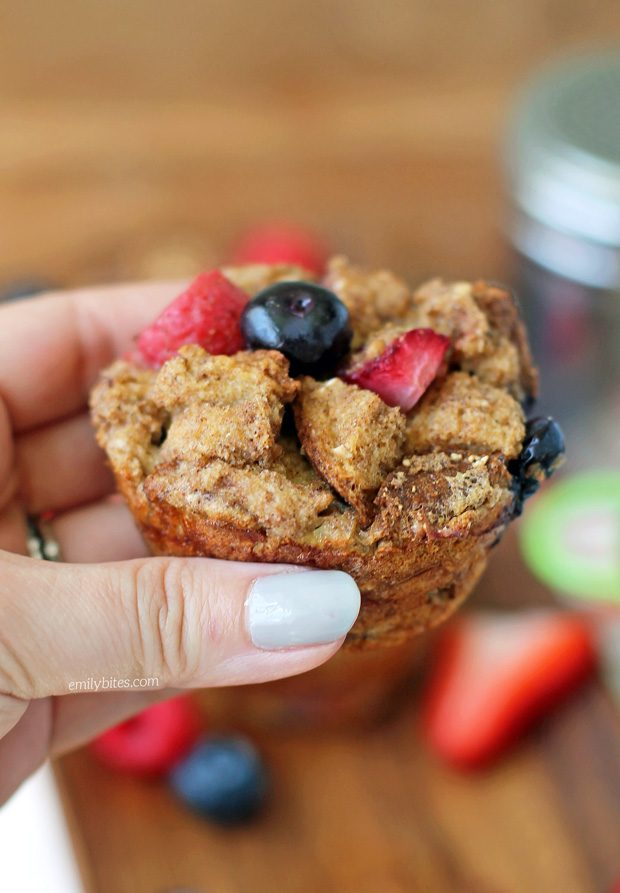 Berry French Toast Muffins