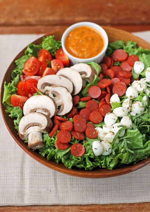 Pepperoni Pizza Salad