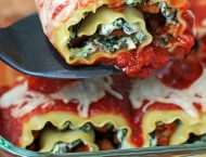 Pizza Lasagna Roll-Ups