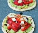Strawberry Avocado Toast Flats
