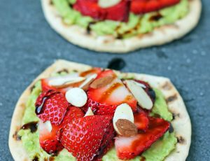 Strawberry Avocado Toast Flats