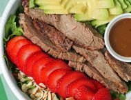 Strawberry Steak Salad