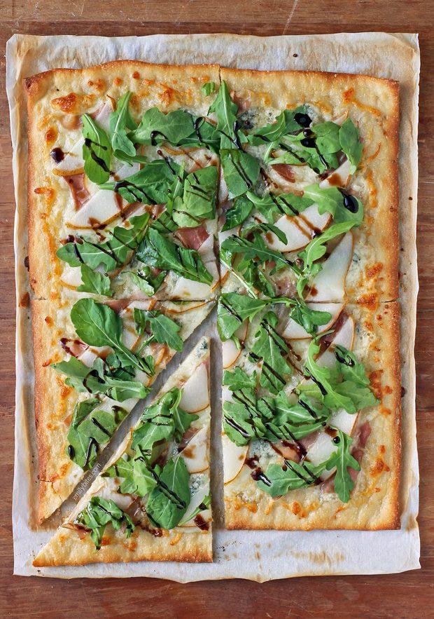 Pear Prosciutto Pizza