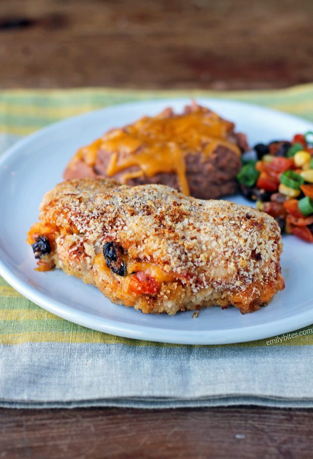 Fiesta Stuffed Chicken