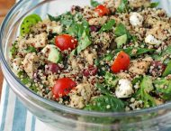 Greek Chicken Quinoa Salad