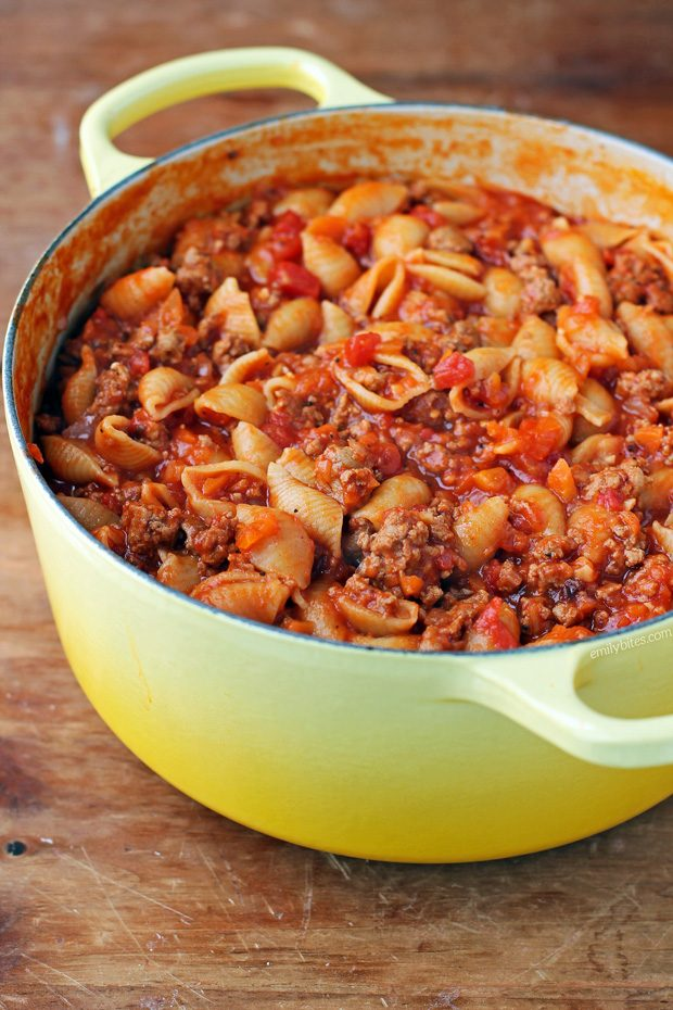 Turkey Sloppy Joe Pasta