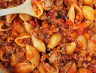 Turkey Sloppy Joe Pasta