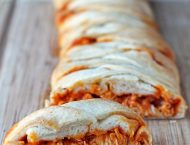 Buffalo Chicken Braid