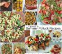 Lightened Up Summer BBQ Potluck Recipe Roundup