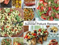 Lightened Up Summer BBQ Potluck Recipe Roundup