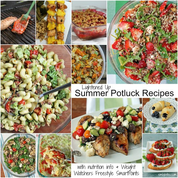 Lightened Up Summer Bbq Potluck Recipe Roundup Emily Bites