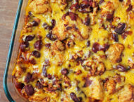 Bubble Up Chili Cheese Dog Casserole