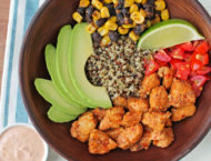 Southwest Chicken Quinoa Bowls