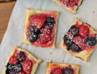Mixed Berry Puff Pastry Tarts