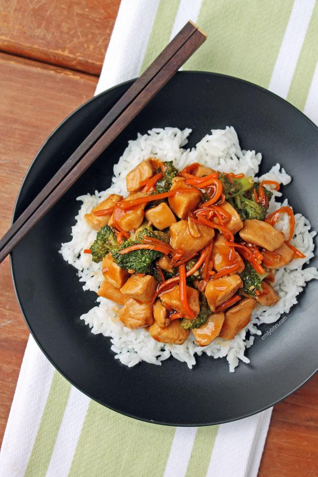 Chicken Teriyaki Stir Fry