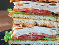 Cajun Turkey Club Sandwich