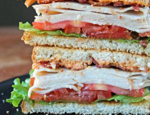 Cajun Turkey Club Sandwich
