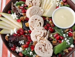 Turkey and Pear Autumn Salad