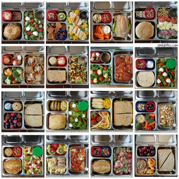 lunches packed in a planetbox