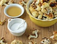 Salt and Vinegar Roasted Cauliflower