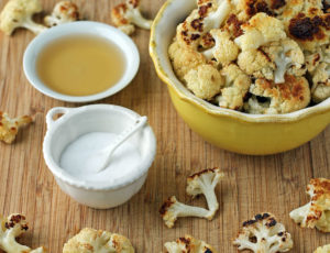 Salt and Vinegar Roasted Cauliflower