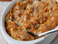Pumpkin and Sausage Stuffed Shells