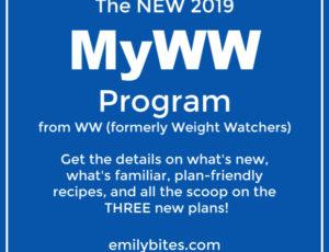 New MyWW Weight Watchers WW Program Details