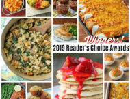 Photo Collage of 2019 Recipes