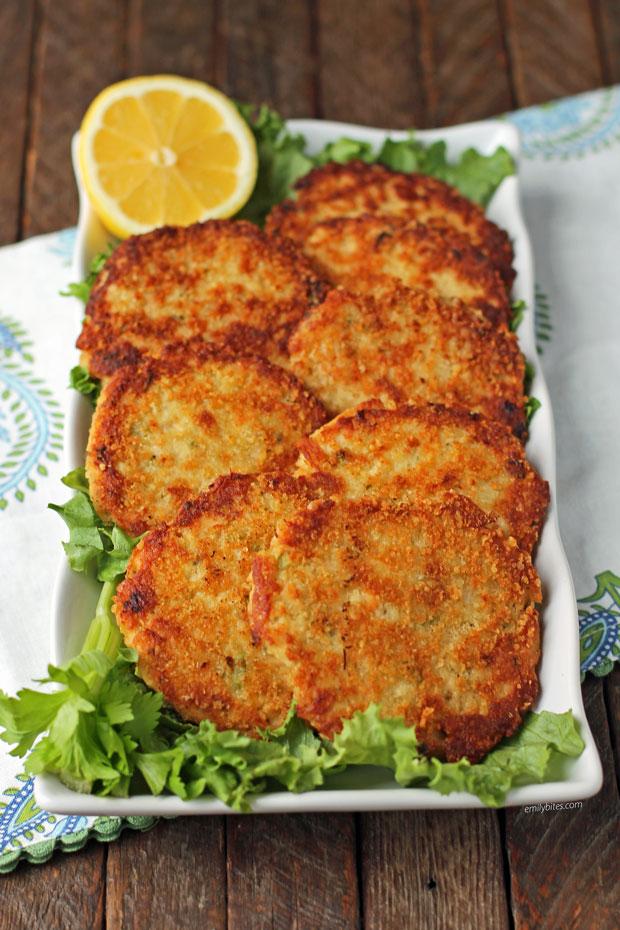 Tuna Cakes on a plate