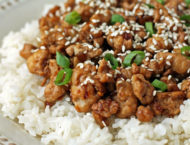 Korean-Inspired Ground Turkey close up
