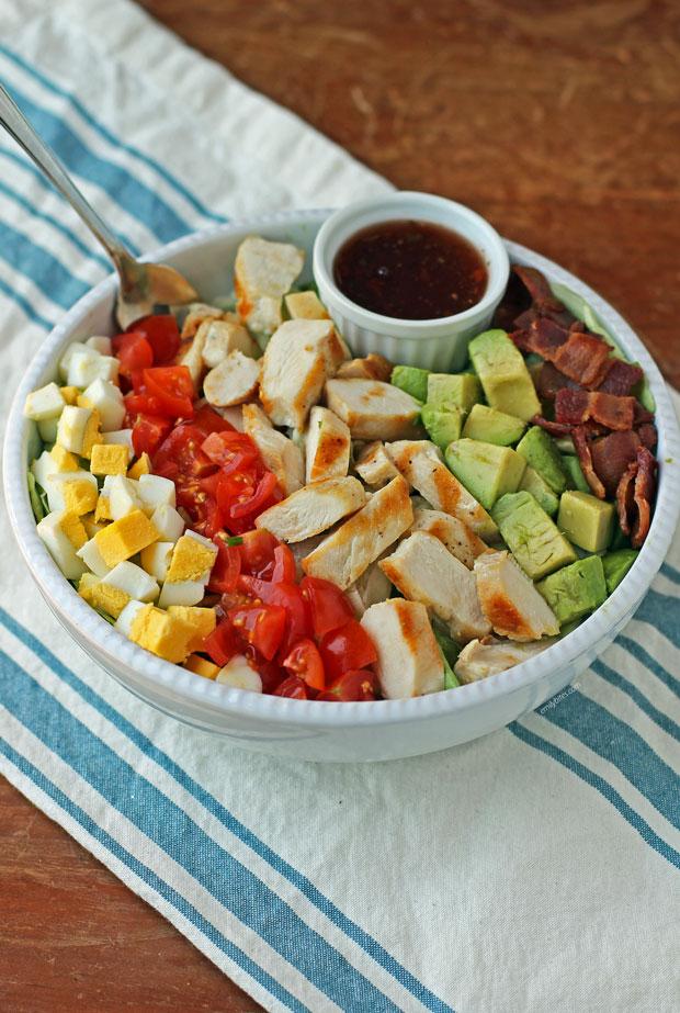 Cobb Salad in a bowl