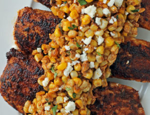 Mexican Street Corn Chicken from above